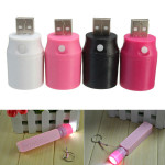 Mini USB Multi LED-belysning Pannlampa för Bärbar Extern Ström Ficklampor