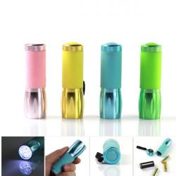 Multi Color Mini Bärbara LED-Ficklampa 3xAAA