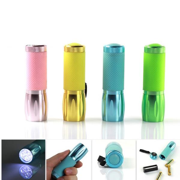 Multi Color tragbare Mini LED Taschenlampe 3xAAA Taschenlampe