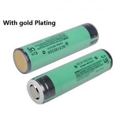 NCR18650A 3100mAh 3.7v Gold Plating Uppladdningsbart Li-ion Batteri