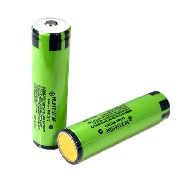 NCR18650BE 3200mAh 3,7 V Vergoldung Lithium Ionen Akku Taschenlampe
