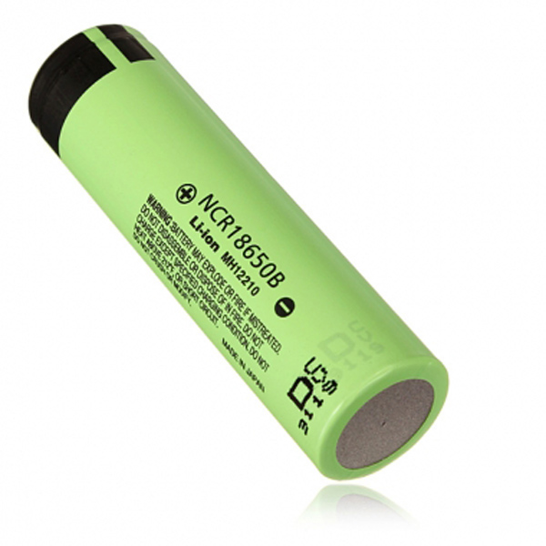 NCR 3400mAH 18650 3.7 V Lithium Rechargeable Battery For Panasonic Flashlight