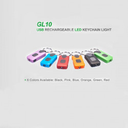 NEXTORCH GL10 MICRO USB Rechargerable LED Nyckelring Ljus Six Color
