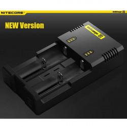 NiteCore Intellicharger I2 NEW Version Universal Smart Ladegerät