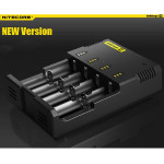 NiteCore Intellicharger I4 NEW Version Universal Smart Ladegerät Taschenlampe