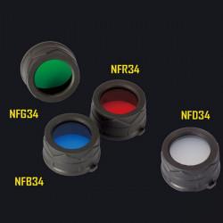 NITECORE NFR34 NFB34 NFG34 NFD34 Diameter 34mm Multicolour Filter