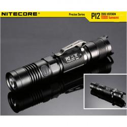NITECORE P12 2015Version CREE XM-L2 U2 1000LM LED Ficklampa