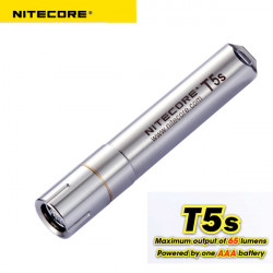 NITECORE T5S CREE XP-G R5 65Lm 4 Mode Tactical LED Ficklampa