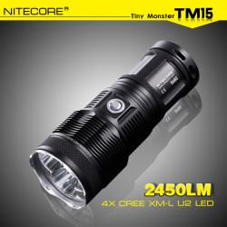 NITECORE TM15 3x CREE XM-L2 2450LM Tactical LED Flashlight