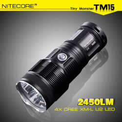 NiteCore TM15 3x CREE XM L2 2450LM taktische LED Taschenlampe