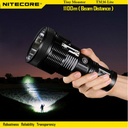 NITECORE TM36 Lite SER-70(PA-C2) 1800LM LED Flashlight To 1100M