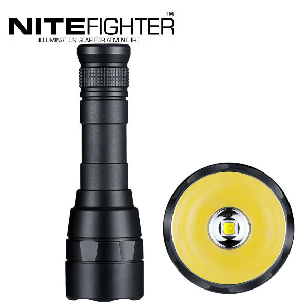NITEFIGHTER F30B CREE XM-L2 2000LM 5modes LED Ficklampa 18650 Ficklampor