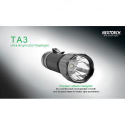 Nextorch TA3 Cree XM-L 550LM 18650 Rescue Hunting LED Flashlight