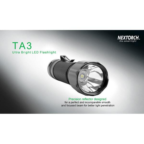 Nextorch TA3 Cree XM-L 550LM 18650 Rescue Hunting LED Flashlight Flashlight