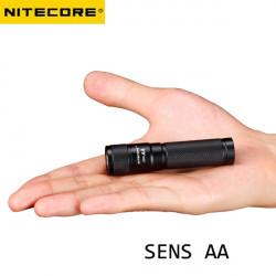 NiteCore SENS AA Cree XP-G R5 120LM 3 Mode Tactical LED Ficklampa