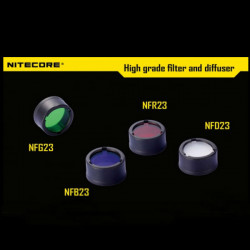 Nitecore 23mm Filter Diffuser Four Colors For MT1A/MT2A/MT1C