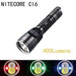 Nitecore Ci6 CREE XP-G2 440LM Chameleon Serien Tactical LED Ficklampa Ficklampor