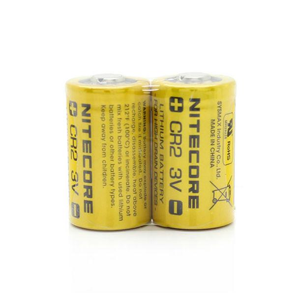 Nitecore CR2 3V Litiumbatteri 1PCS Ficklampor