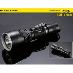 Nitecore CR6 CREE XP-G2 440LM Chameleon Serien Tactical LED Ficklampa