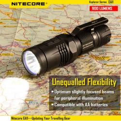 Nitecore EA11 CREE XM-L2 (U2) 900lm Compact EDC Ficklampa