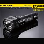 NiteCore EAX Hammer 2xCREE XM L2 T6 2000LM LED Suchscheinwerfer 8xAA Taschenlampe