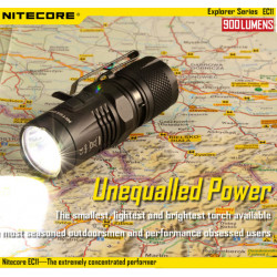 Nitecore EC11 CREE XM-L2(U2) 900lm 18350 EDC LED Flashlight