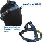 Nitecore HB02 Flashlight Headlight Headband For AA CR123 502B Flashlight