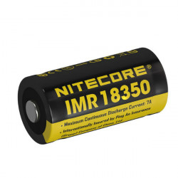 Nitecore IMR18350 700mAh 7A Rechargeable Li-Mn Battery