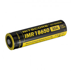Nitecore IMR18650 2000mAh 30A Genopladeligt Li-Mn Batteri