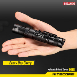 Nitecore MH12 CREE XM-L2 U2 1000LM USB Charge Tactical LED Ficklampa