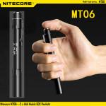 Nitecore MT06 CREE XQ-E R2 165LM Highly EDC Penlight 2xAAA Flashlight