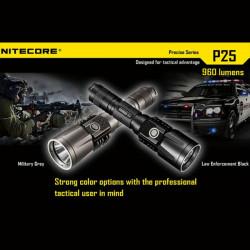 NiteCore P25 CREE XM L2 960LM USB taktische LED Taschenlampe