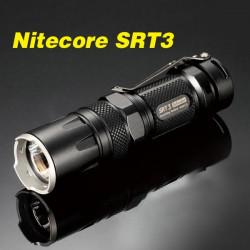 Nitecore SRT3 CREE XM-L2 T6 550LM Tactical LED Ficklampa