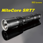 Nitecore SRT7 CREE XM-L2 T6 960LM Tactical LED Ficklampa Ficklampor