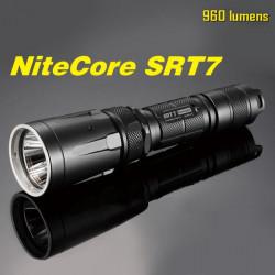 Nitecore SRT7 CREE XM-L2 T6 960LM Tactical LED Ficklampa