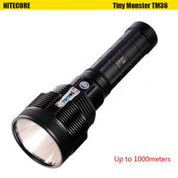 Nitecore TM36 1100M 8Modes OLED Display Uppladdningsbara LED Ficklampa