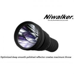 Niwalker Vostro BK-FA02 Cree MTG2 2480LM LED Ficklampa