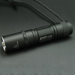 Pioneer C22 Cree XM-L2 U2-1A / T6-3C 3-Mode OP Reflektor LED Ficklampa