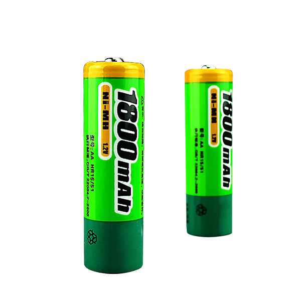 Pisen 1800mah 1.2V Rechargeable Ni-MH AA Battery 2Pcs Flashlight