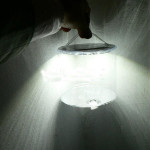 Portable Solar Power Inflatable 3 Modes LED Lantern Camping Light Flashlight