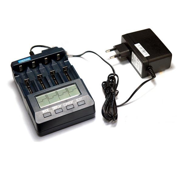 Powerfocus BT-C3100 V2.1 LCD Display Ni-Mh lithium-ion Battery Charger Flashlight