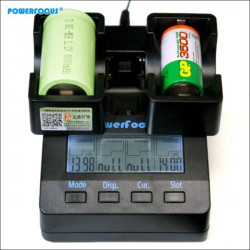 Powerfocus D C auf AA Handy Adapter für Ni MH Akku Ladegerät