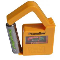 Powerlion BT0505 Universal Batterikapacitet Tester för AA AAA DC AG 9V