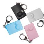 Echtblitzlicht Ton Cartoon Mini Kamera LED Schlüsselanhänger Taschenlampe
