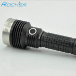 Rocher AS31 CREE XM-L2 1A Tactical LED Ficklampa 18650 Ficklampor