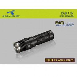 Skilhunt DS15 Cree XM L2 5 Mode 240 Lumen 14500 LED Taschenlampe