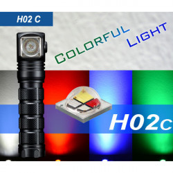 SKILHUNT H02C CREE XML-Color RGBW Colorful Headlamp LED Flashlight