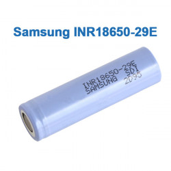 Samsung INR18650-29E 18650 2900mAh Flat Top 10A 3.7v Lithium Battery