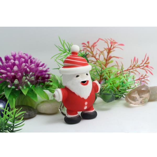 Santa Claus LED Nyckelring Julklappar Julpynt Ficklampor