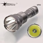 Solarstorm SP01 CREE XM-L U2 5modes 830LM LED Ficklampa 18650 Ficklampor